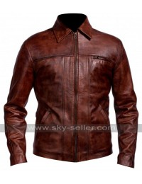 Leonardo DiCaprio Inception Cobb Brown Jacket