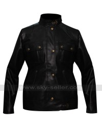 Liz Sherman Hellboy 2 Selma Blair Black Jacket