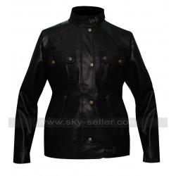 Liz Sherman Hellboy 2 Selma Blair Black Jacket
