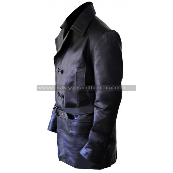 Brad Pitt Inglourious Basterds Lt. Aldo Raine Leather Jacket