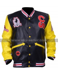 Roots Cowboy Calgary Stampede Bomber Leather Jacket
