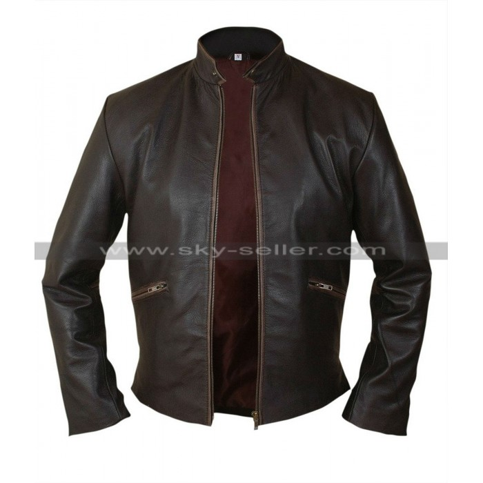 Sam Flynn Tron Legacy Garrett Hedlund Leather Jacket