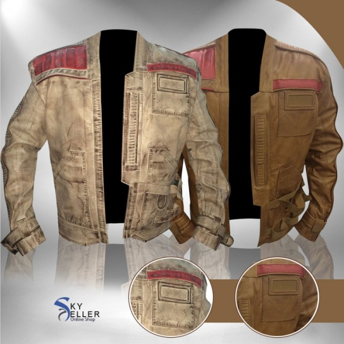 The Force Awakens Star Wars Finn (John Boyega) Leather Jacket