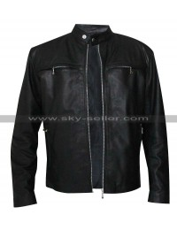 Stormbreaker Alex Rider Black Leather Jacket
