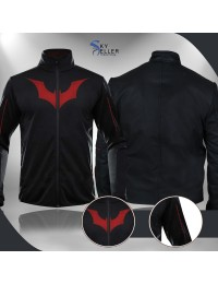 Batman Beyond Terry McGinnis Black Athletic Jacket
