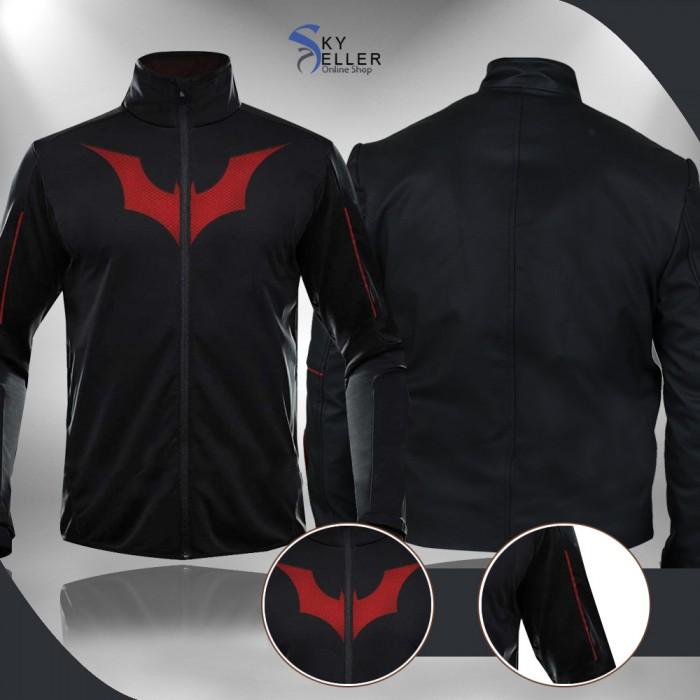 Batman Beyond Terry McGinnis Black Athletic Jacket