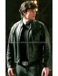 Tom Welling Smallville Clark Kent Schott Black Jacket