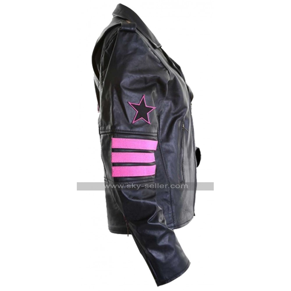 Bret hart leather jacket