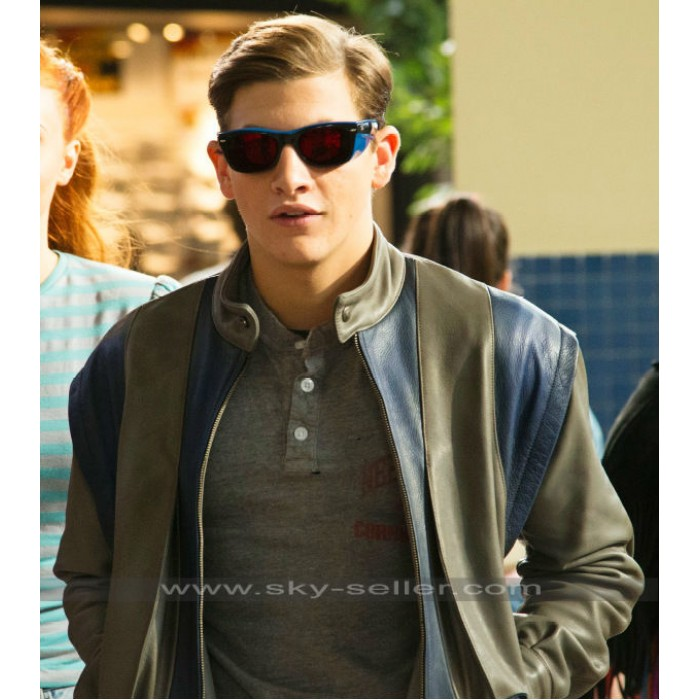 X-Men Apocalypse Cyclops (Tye Sheridan) Leather Jacket