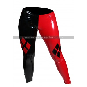 Arkham City Harley Quinn Costume Leather Pants