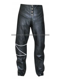 The Crow Eric Draven Black Leather Pants