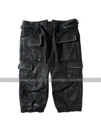 Noctis Lucis Caelum Final Fantasy XV Costume Leather Quarter Pants