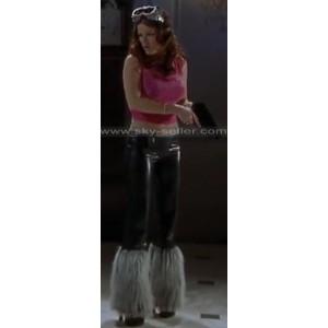 Scary Movie 2 Kathleen Robertson (Theo) Leather Pants