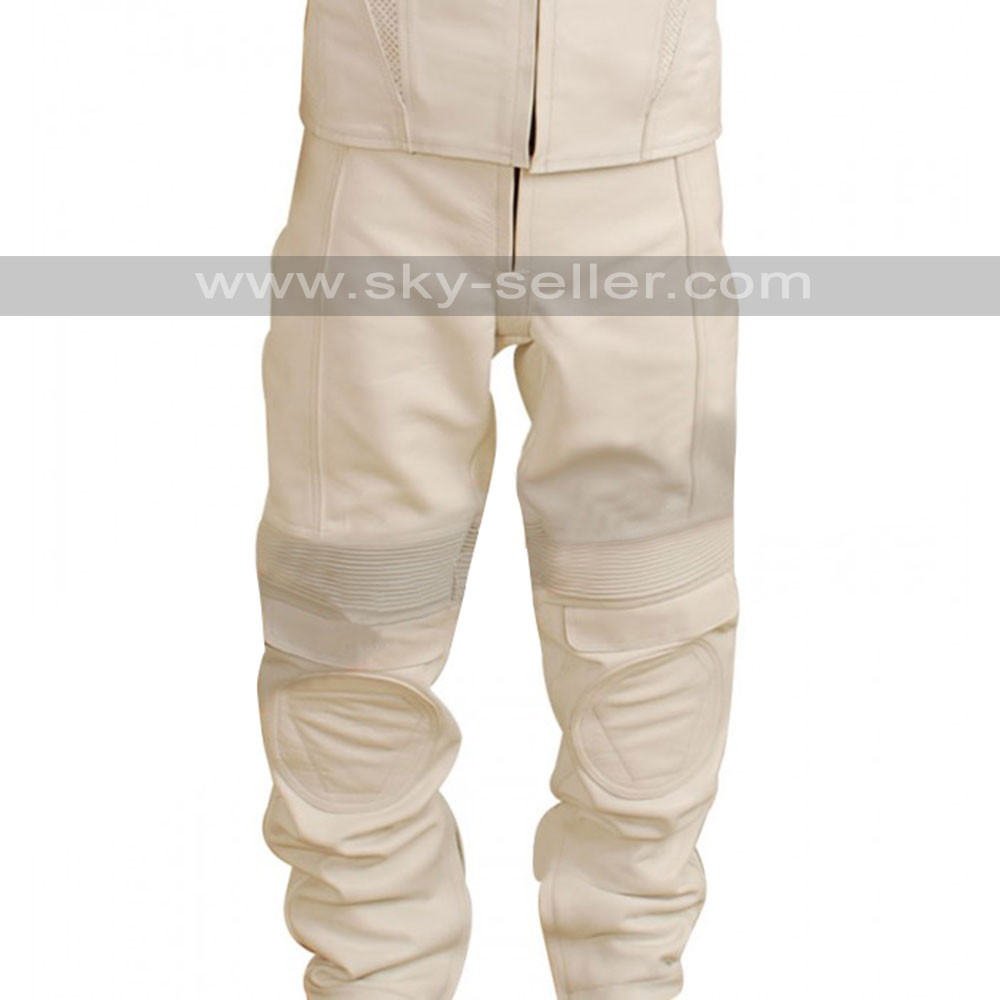 Oblivion Tom Cruise White Leather Pants