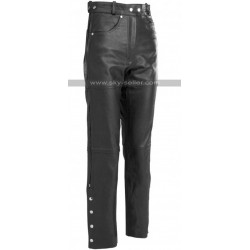 River Road Pueblo Cool Leather Pants for Unisex