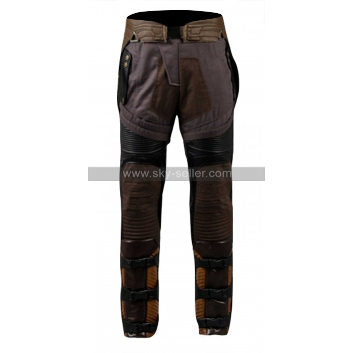 Guardians Of Galaxy 2 Star Lord Costume Men Pants