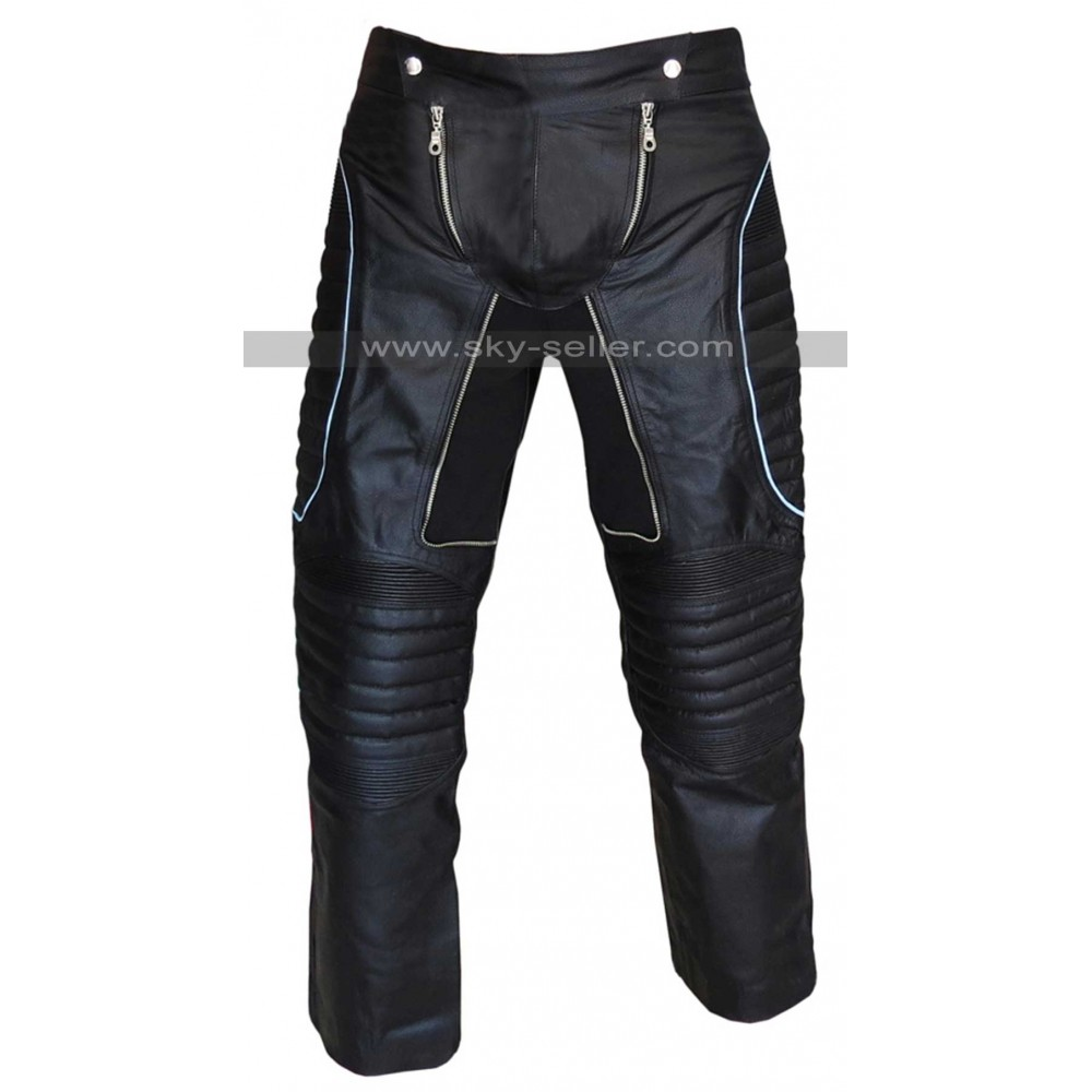 Iceman X-Men 3 Shawn Ashmore Black Leather Pants