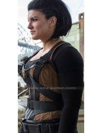 Angel Dust Deadpool Gina Carano Brown Vest