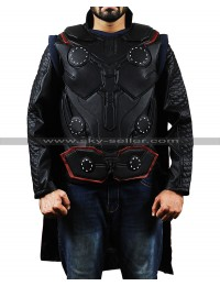Avengers Infinity War Thor (Chris Hemsworth) Costume Leather Vest