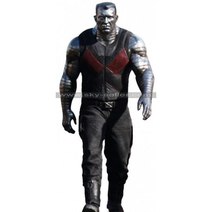 Deadpool Colossus (Stefan Kapicic) Leather Vest