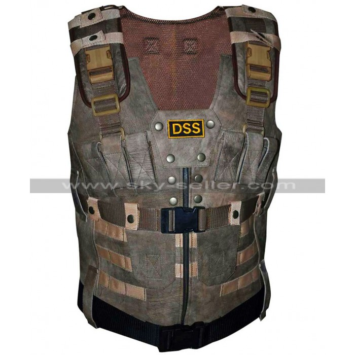 Fast and Furious 7 Agent Luke Hobbs DSS Tactical Vest