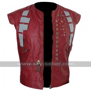 Guardians of the Galaxy Chris Pratt (Starlord) Leather Vest