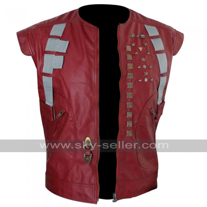 Guardians of the Galaxy Avengers Chris Pratt (Starlord) Leather Vest