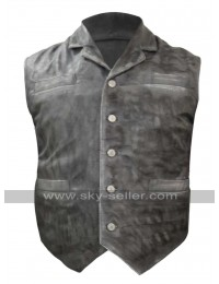 Cullen Bohannon Hell on Wheels Anson Mount Leather Vest