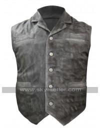 Cullen Bohannon Hell on Wheels Anson Mount Leather Vest