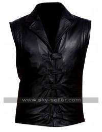 Hugh Jackman Van Helsing Black Leather Vest