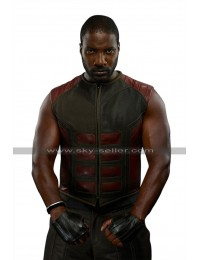 Inhumans Eme Ikwuakor (Gorgon) Costume Leather Vest