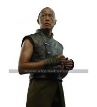 Karnak Inhumans Ken Leung Costume Black Leather Vest
