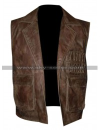 Allan Quatermain League of Extraordinary Gentlemen Brown Vest