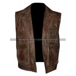 Allan Quatermain League of Extraordinary Gentlemen Brown Vest