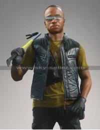 Marcus Boomer Boone Battlefield Hardline Leather Vest