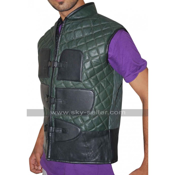 Mortal Kombat X Johnny Cage Quilted Leather Vest