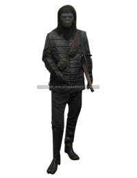 Gorilla Soldier Planet of the Apes Warrior Leather Vest
