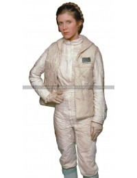Princess Leia Star Wars White Leather Vest