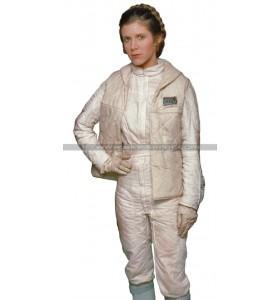 Princess Leia Star Wars White Leather Vest