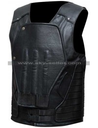 Punisher War Zone Frank Castle Armored Costume Leather Vest