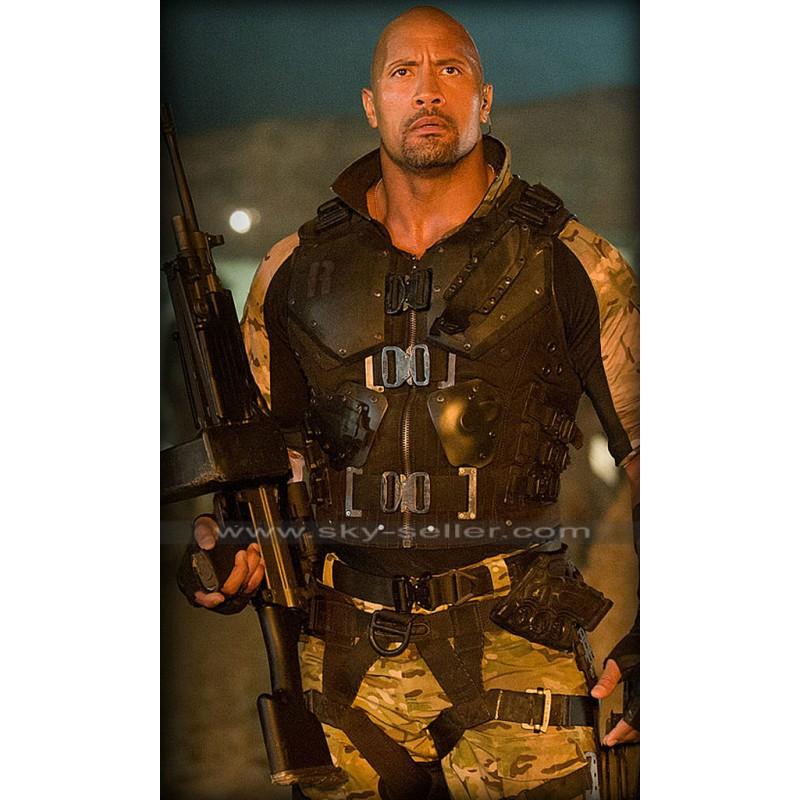 Roadblock G.I Joe Retaliation Dwayne Johnson Armor Vest