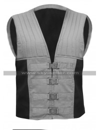Roland Deschain The Dark Tower Gunslinger Idris Elba Grey Cotton Vest