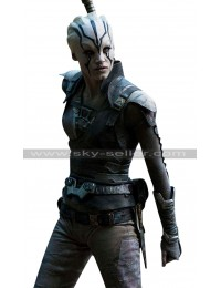 Star Trek Beyond Jaylah Costume Leather Vest