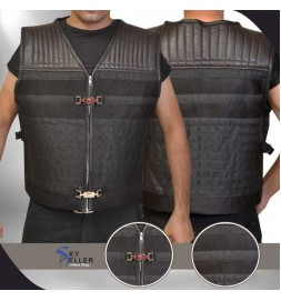 Sylvester Stallone Expendables 3 Barne Ross Leather Vest