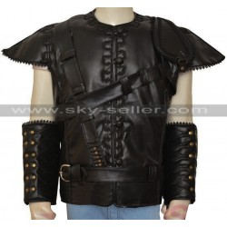 The Huntsman Chris Hemsworth Black Leather Vest