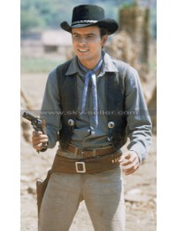 The Magnificent Seven 1960 Horst Buchholz Leather Vest