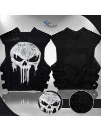 Thomas Jane Punisher Tactical Black Vest