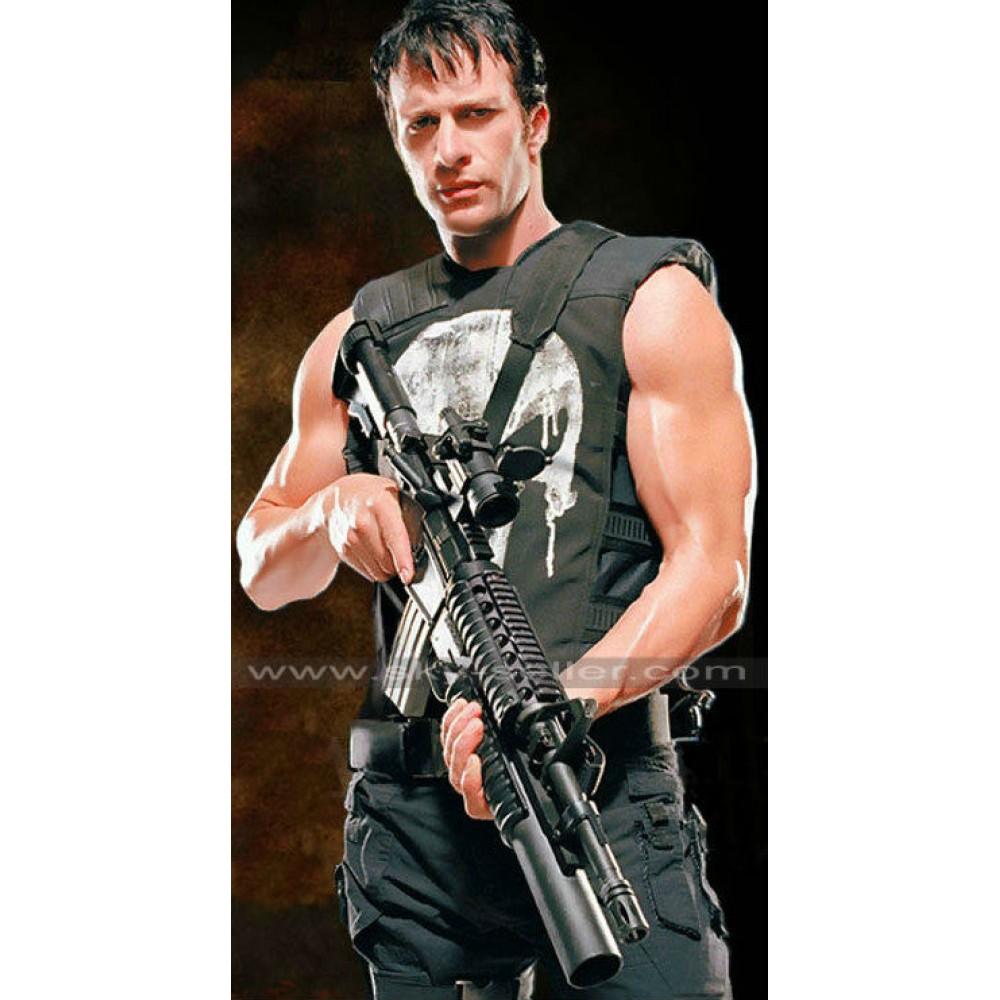 Thomas Jane Punisher Tactical Black Vest