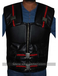 Wesley Snipes Blade Costume Black Leather Vest