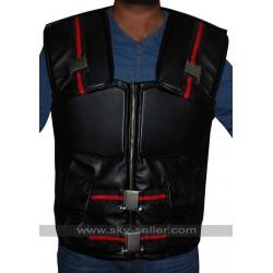 Wesley Snipes Blade Costume Black Leather Vest